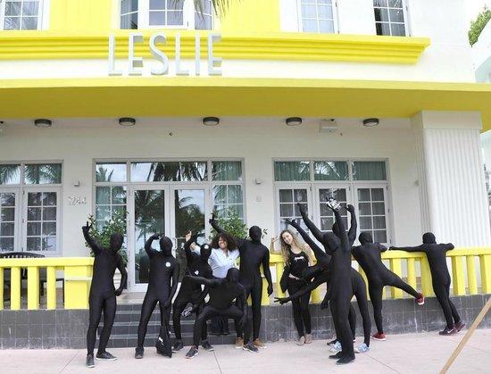 Leslie Hotel Entrance