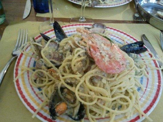 U' Brunzin : Carbonara di pesce