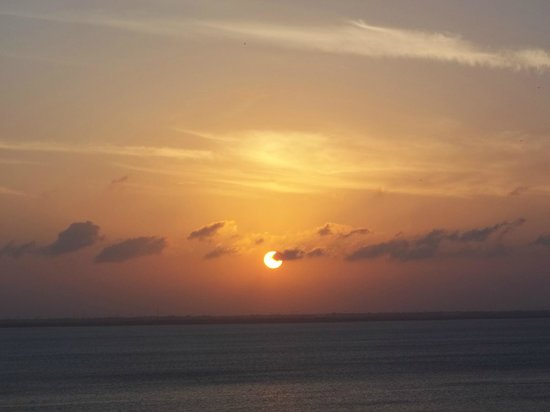 Golden Parnassus Resort & Spa : Sunset from room