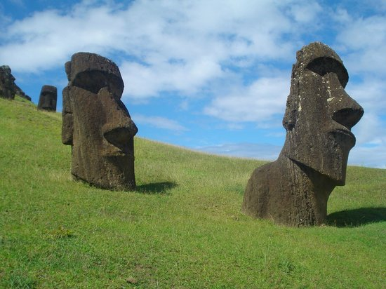 Rapa Nui National Park : Rano Raraku