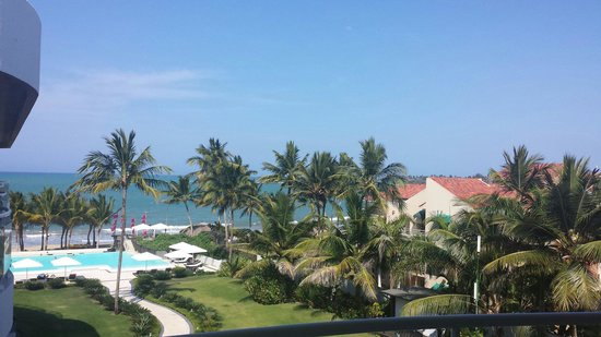 Millennium Resort & Spa: View from private terrace.