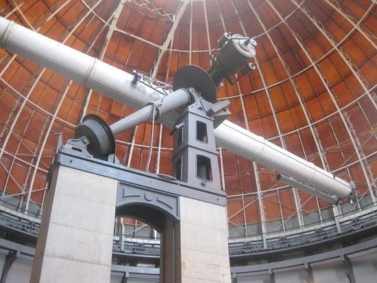 Côte d'Azur Observatory: The main refracting telescope