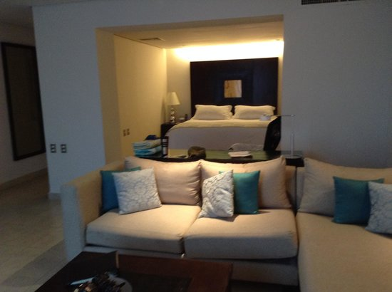 Secrets Aura Cozumel: our room