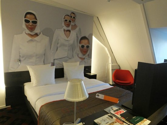 Hampshire Hotel - The Manor Amsterdam: Bedroom