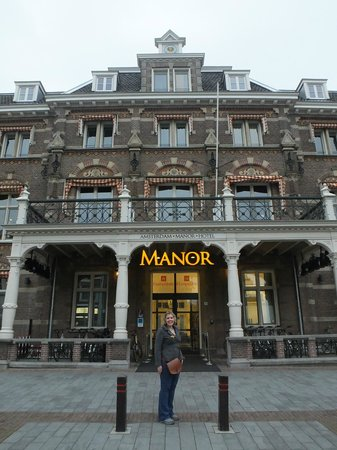 Hampshire Hotel - The Manor Amsterdam : Front of the hotel