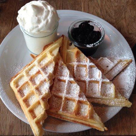 Chipps: Waffles for breakfast
