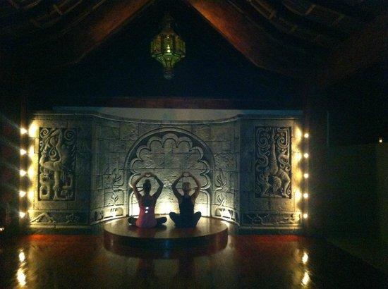 Anamaya Resort & Retreat Center: 2nd Yoga Deck