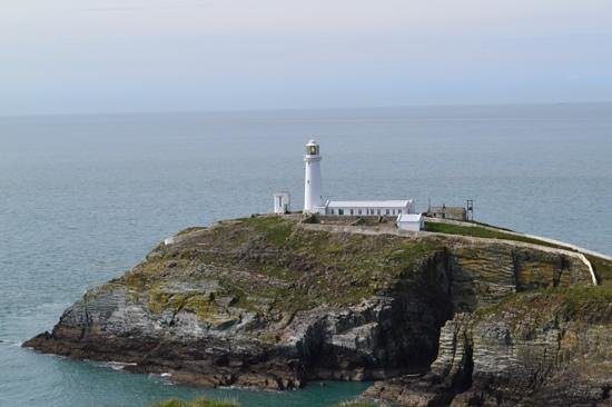South Stack Lighthouse: view of the light house
