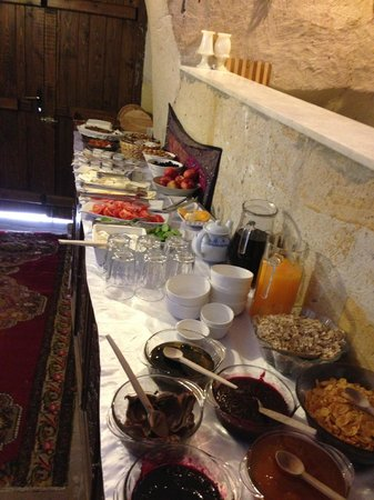 Canyon View Hotel: Breakfast buffet