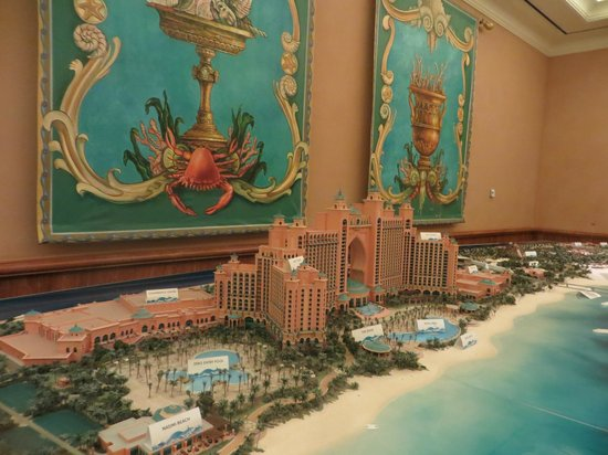 Atlantis The Palm Model Of Hotel