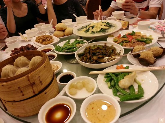 West Villa: dim sum and cooked dishes