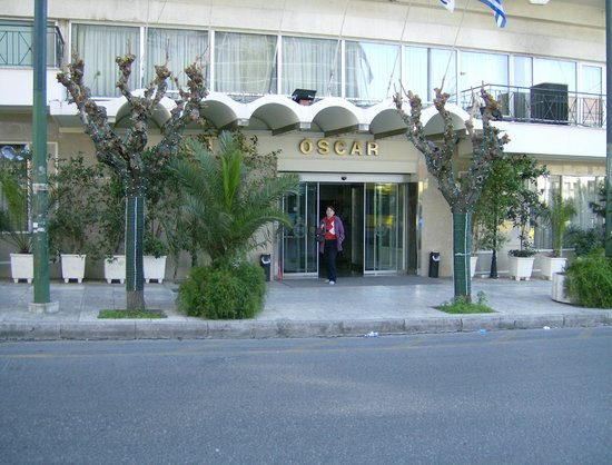 Oscar Hotel: Hotel entrance