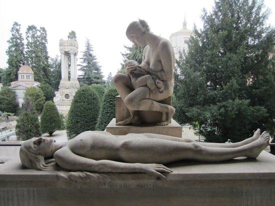 Cimetière Monumental : Grave