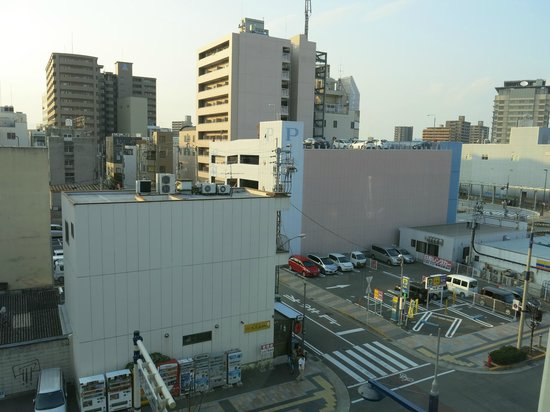 Takamatsu Terminal Hotel: The view from Room 503