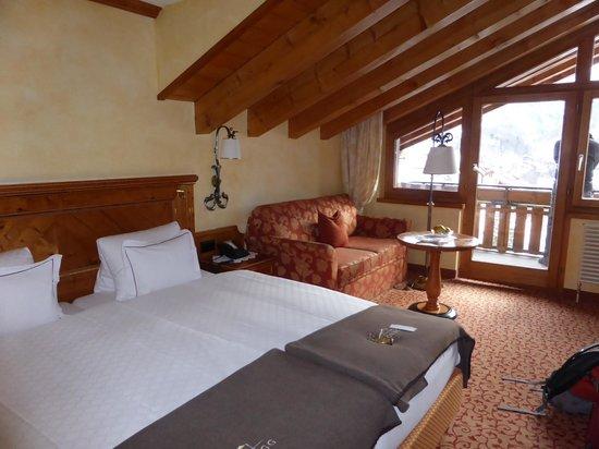 Chalet Hotel Schoenegg : Boutique Matterhorn view room