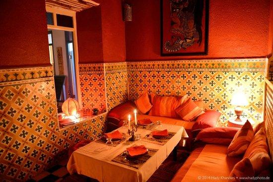 Hotel Les Matins Bleus : Dining Area