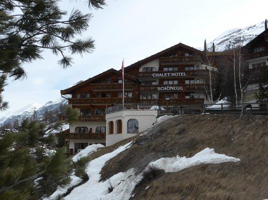 Chalet Hotel Schoenegg : The hotel