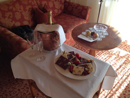 Chalet Hotel Schoenegg : Birthday treat