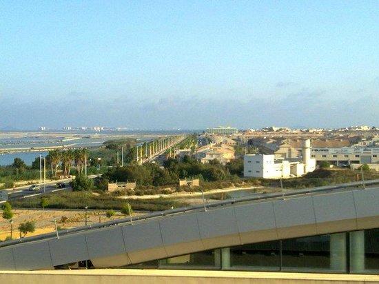 Thalasia Costa de Murcia: Vistas desde la terraza de arriba