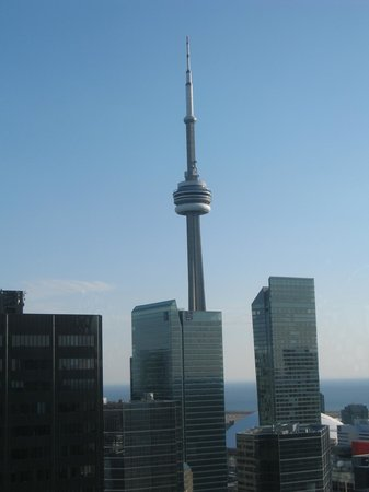Sheraton Centre Toronto Hotel: View from 43rd floor club lounge - dining area