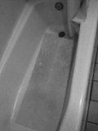 Quality Inn: bathtub