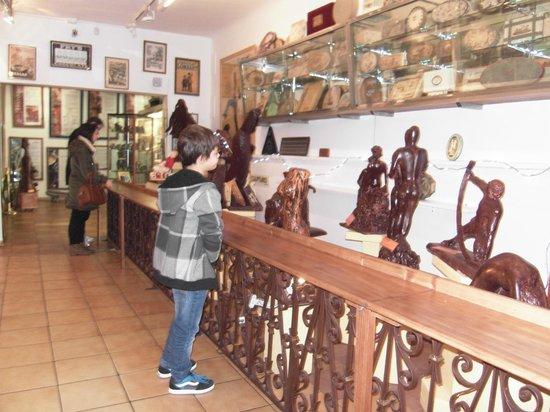 Planete Musee du Chocolat Biarritz : figuras chocolate