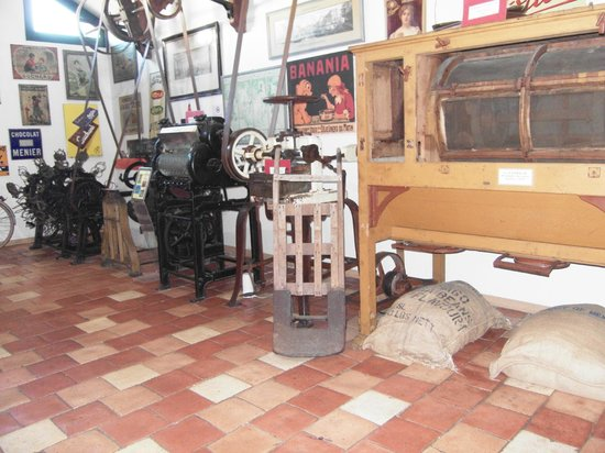 Planete Musee du Chocolat Biarritz : maquinaria