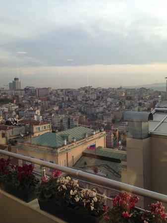 Richmond Hotel Istanbul: вид из ресторана
