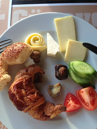 Richmond Hotel Istanbul: завтрак