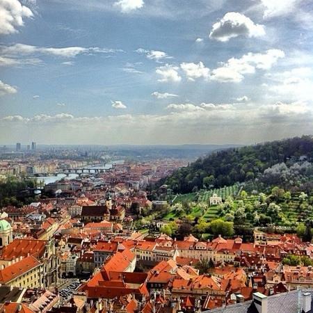 Veitsdom (Chram svatého Víta): Прага с высоты птичьего полета!