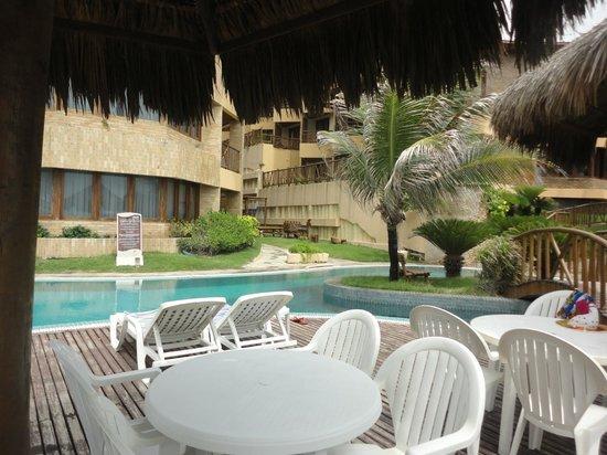 Visual Praia Hotel: Aerea de lazer espaçosa e bem cuidada!