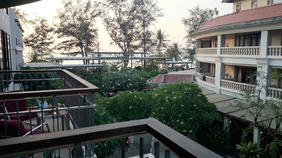 Baan Laimai Beach Resort : View from the Balcony