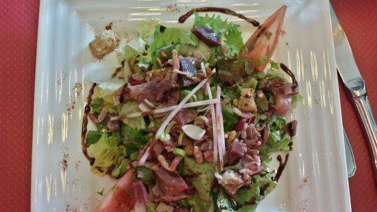 La Maison : Salade campagnarde