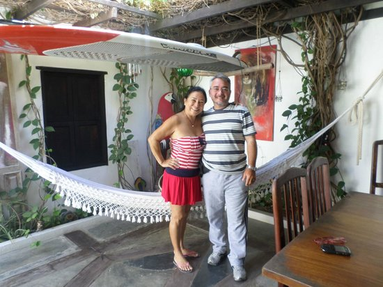 Posada Piano y Papaya Los Roques : Sra Africa