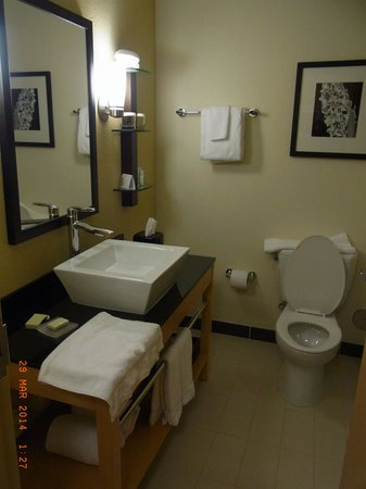 Cambria hotel & suites Miami Airport - Blue Lagoon: Bathroom