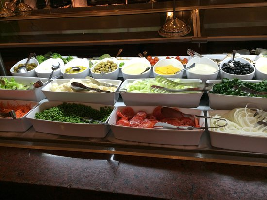 Hotel Riu Palace Riviera Maya: La comida exquisita