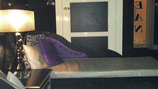 Hotel Columbia Wellness & SPA: Lettini dell'area relax del percorso ocean evasion