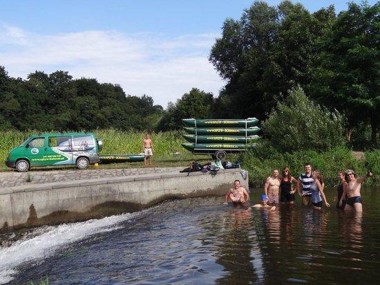 Bobr River Rafting