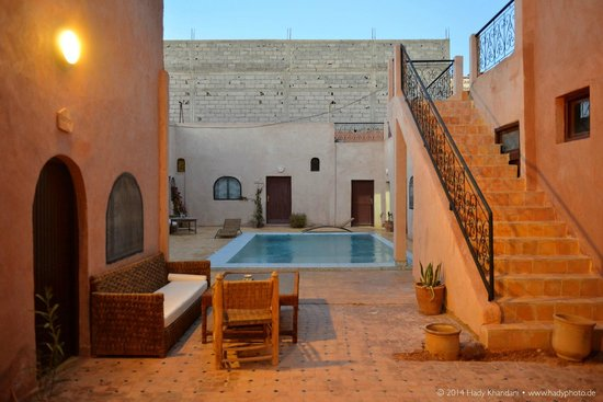 Auberge Bagdad Cafe: Pool / Patio