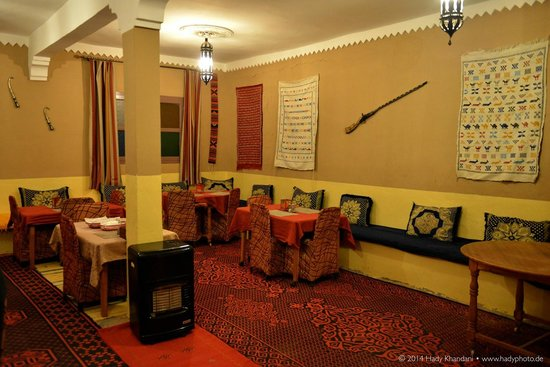 Auberge Bagdad Cafe: Dining Area