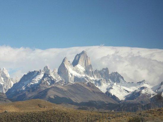 Road to El Chalten : Hermosa vista del Fitz Roy