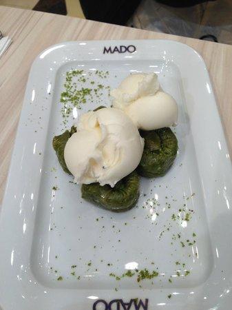 Mado: фисташковый десерт
