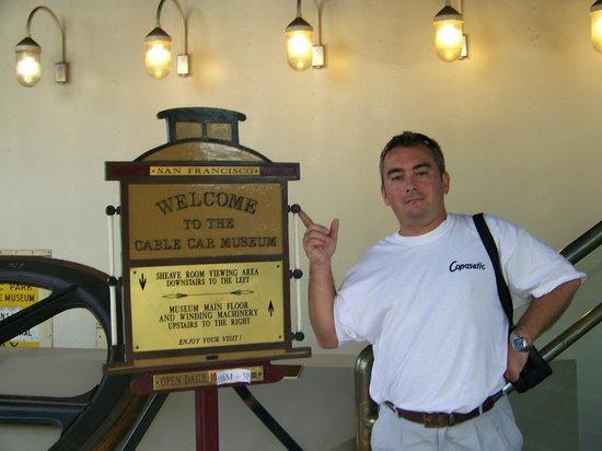 Cable Car Museum: Recuerdo de SF