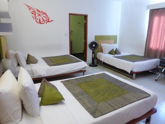 Villa Langka: Une literie d'un grand confort, propreté impeccable, sommeil réparateur garanti après une journé