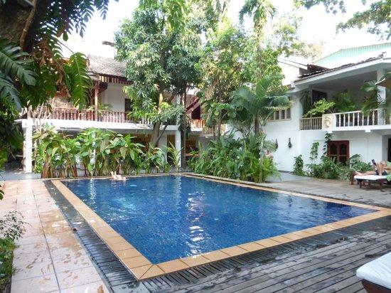 Villa Langka: température de l'eau: divine!