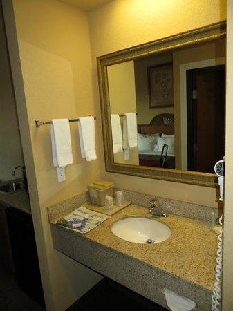 Comfort Inn & Suites: Bathroom, room #300