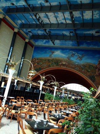 Rome Marriott Park Hotel: Ristorante e Hall