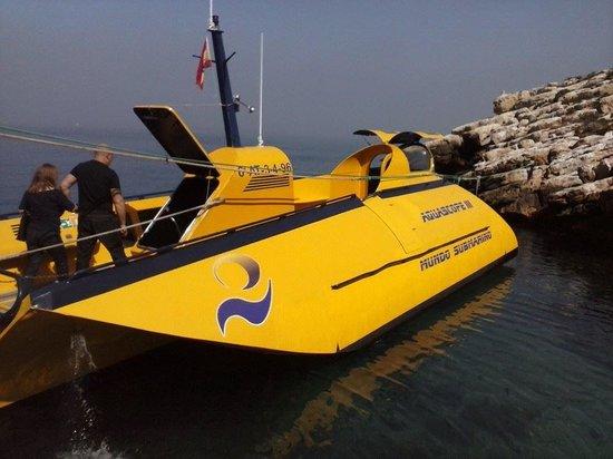 Isla de Benidorm (L'illa de Benidorm): submarine