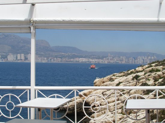 Benidorm Island : view from island cafe