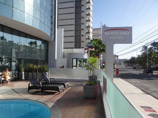Meridiano Hotel: Fachada